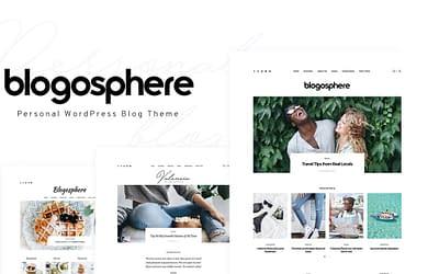 Blogosphere – Multipurpose Blogging Theme